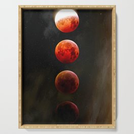 Blood Moon IV Serving Tray