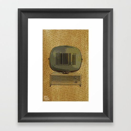 Commercial Real Estate Framed Art Print