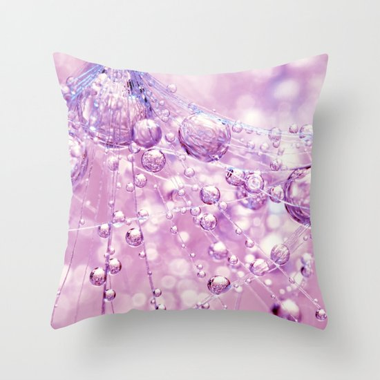 Dandy Pretty in Pink Throw Pillow