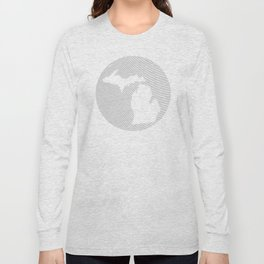 The GREAT LAKES of NORTH AMERICA Long Sleeve T-shirt