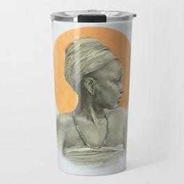 Sun Woman Travel Mug
