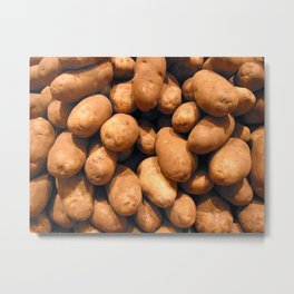 Potato head Metal Print