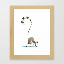Lemur Framed Art Print