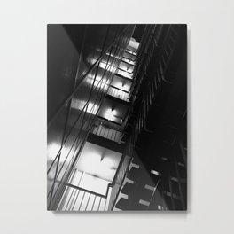 Belgrade   Staircase of a building in New Belgrade Metal Print