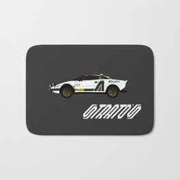 Lancia Stratos Rally Bath Mat