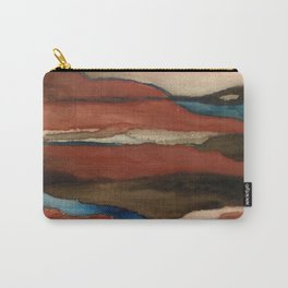 """""""a dark february"""" abstract watercolor painting Carry-All Pouch"""