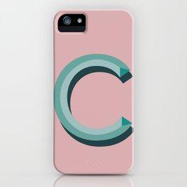 c blush iPhone Case