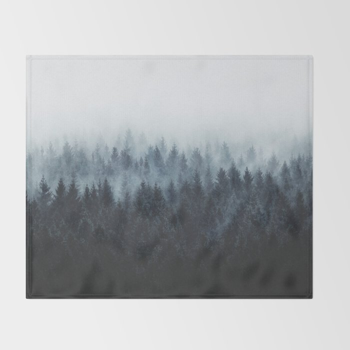 High And Low Throw Blanket