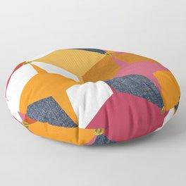 KALEIDOSCOPE 02 #HARLEQUIN Floor Pillow