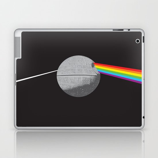 The Darth Side of the Moon: Episode IV Alderaan Laptop & iPad Skin