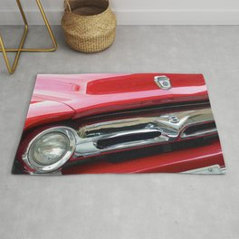 Cherry Red Ride Rug
