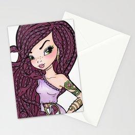 The Snake Mistress Stationery Cards