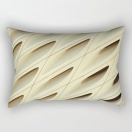 The Broad In the Afternoon Vintage Retro Pattern Photography I Rectangular Pillow
