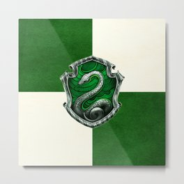 SLYTHERIN Metal Print