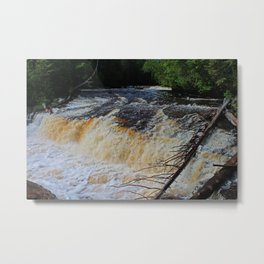 Tahquamenon Lower Falls Metal Print
