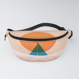 Abstraction_SUN_Sailing_Ocean_Minimalism_001 Fanny Pack