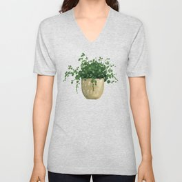 House Plant IV Unisex V-Neck