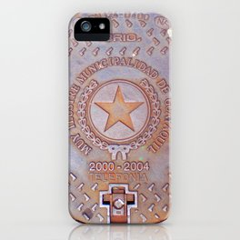 Manhole Cover - Guayaquil iPhone Case