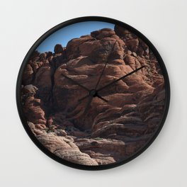 Red Rock Canyon Wall Clock