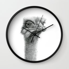 Funny Ostrich SK060 Wall Clock