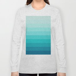 TURQUOISE GRADIENT Long Sleeve T-shirt