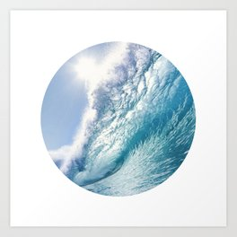 Wave 7 Art Print