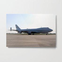 1452. Shuttle Carrier Aircraft Metal Print