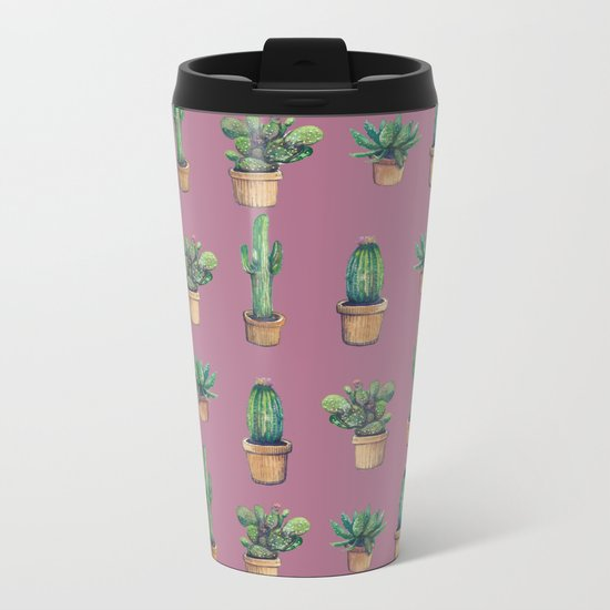 cactus!!!!!!! Metal Travel Mug