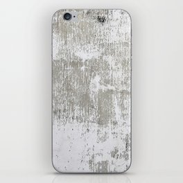 Vintage White Wall iPhone Skin