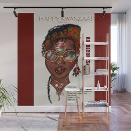 Happy Kwanzaa Gifts and Cards Wall Mural