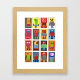 The Robot Army, 2013 Framed Art Print