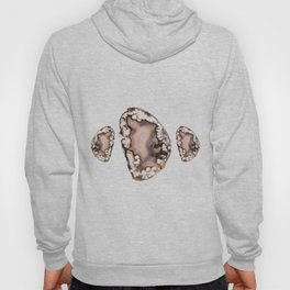 Natural Agate Cluster Hoody