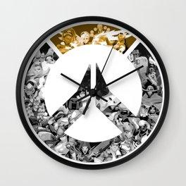All Heroes Logo Wall Clock