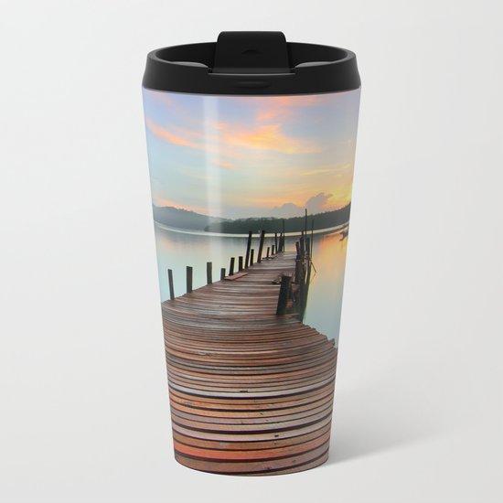 Lake Fantastic Metal Travel Mug