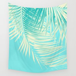 Palm Leaves Summer Vibes #4 #tropical #decor #art #society6 Wall Tapestry