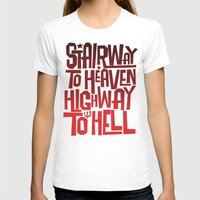 acdc T-shirts featuring HEAVEN AND HELL by All Kings