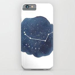 aries constellation zodiac iPhone Case