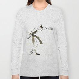 Dance Drawing Long Sleeve T-shirt