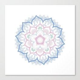 Decorative tribal Mandala Canvas Print