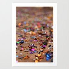 Glitter II Art Print