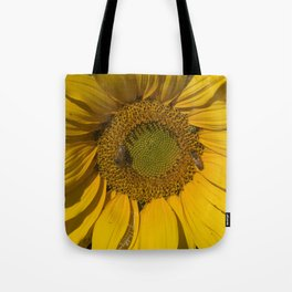 Lively Sunflower Tote Bag