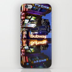 'Times Square NYC ~ BRIGHT LIGHTS' iPhone Skin