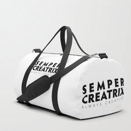 Semper Creatrix (White) Duffle Bag