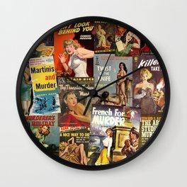 Pulp Fiction 4 Wall Clock