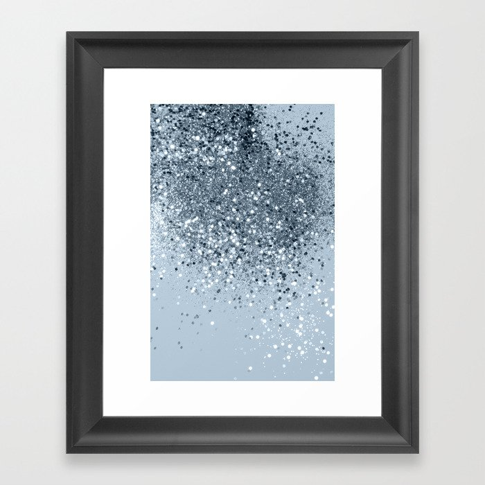 Cali Summer Vibes Lady Glitter #3 #shiny #decor #art #society6 Gerahmter Kunstdruck
