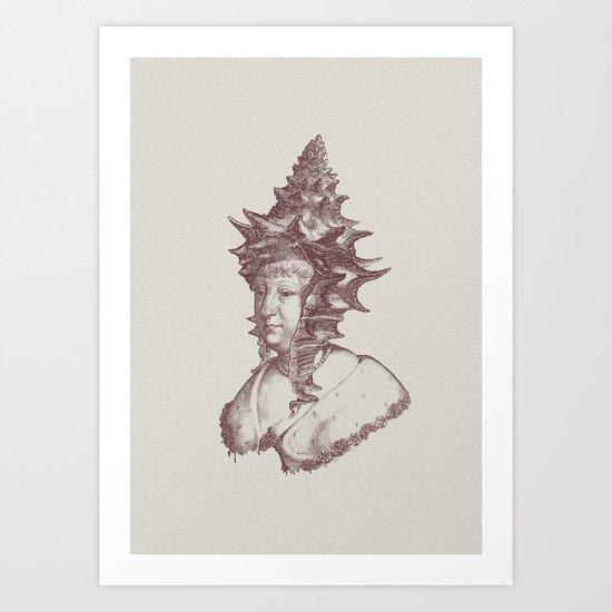 Haute Coiffure  /#3 Art Print