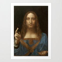 Price Slashed on 450M Leonardo da Vinci Salvator Mundi Art Print