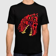 crimson SMALL Black Mens Fitted Tee