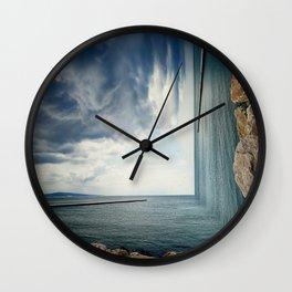 bizarre sea Wall Clock