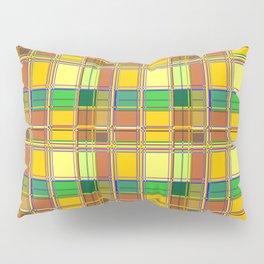 Caribbean Colorful Fabric Madras Tartan Pillow Sham